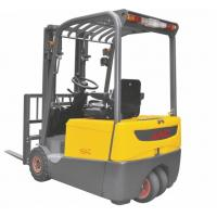 Quality Three Wheel Electric Forklift Truck 1 ton capacity Small Turning Radius for sale