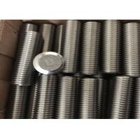 China High Precision Nickel Alloy Fasteners DIN933 DIN934 DIN125 Bolt Nut Washer Stud on sale