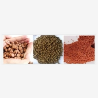 Quality SUS201 1-2 TPH Floating Fish Feed Production Line For Aquaculture for sale