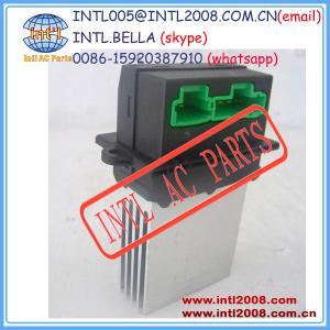 Quality 6441L2 7701048390 7701207718 27150-ED70A Heater Blower motor resistor for Nissan Tiida/Renault/ Peugeot fan resistance for sale