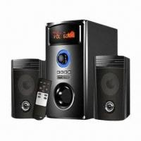 Quality 2.1-channel Computer Speakers with LED Screen, FM, Remote Control, Support USB and SD Cards for sale