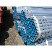 Quality ASTM A53 hot galvanized ERW Steel Pipes for structures for sale