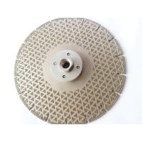 """Quality 7"""" Electroplated Diamond Saw Blade Diamond Cutting Disc For Marble Cutting Grinding for sale"""