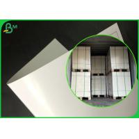 FDA Approved Adiabatic Single Coated PE Paper For Making Lunch packaging Box