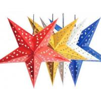 Quality five pointed star for wedding Christmas decoration for sale