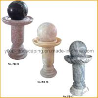 Buy Stone Fountain Carved Marble Water Fountain for Garden Outdoor at wholesale prices