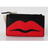 Quality Clear Vinyl Fashion Travel Cosmetic Bag , Small Plastic Makeup Bags With Lip Logo for sale