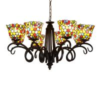 Quality Dale tiffany lamp shade Chandelier Pendant lamp Fixtures (WH-TF-14) for sale