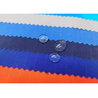 Quality 65% Polyester 35% Cotton Water Repellent Fabric Plain Dyed For Uniform for sale