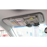 Buy cheap car accessories Sunshade car front baffle storage hanging bag from wholesalers