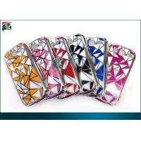 Quality Plating Pc Samsung Galaxy Protective Cases  For Galaxy S3 With 3d Diamond Backside Sticker for sale