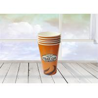China Eco Friendly Disposable Paper Tea Cups , Single Wall Paper Cup For Coffee on sale