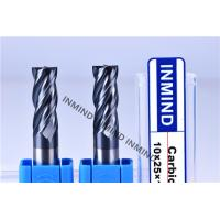 Quality High Feed End Mill For Hardened Steel , Polish Surface High Speed Steel Cutter for sale