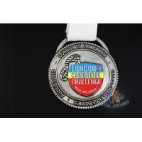 China Sport Event Custom Award Medals Custom Medallions No Minimum With Lanyard on sale