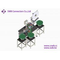 China LED Automatic Connector Assembly Machine Automatic Feeding By Vibrating Plate wholesale