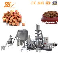 Quality Stainless Steel Pet Food Machine Production Line , Dog Food Extrusion Machine for sale