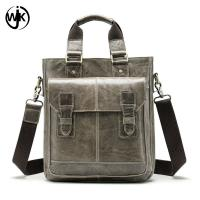 Quality low MOQ office bag for men leather pure color leather bag for men Imported First Layer of cowhide hand bag men for sale