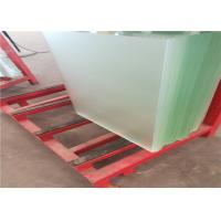 Buy High Transmittance Low Iron Tempered Glass 3.2mm / 4mm Thickness Waterproof at wholesale prices