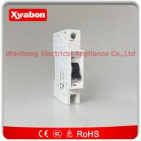 Quality OEM Factory supply 4.5ka 5SQ2 1C25 - 25a Type C Single Pole MCB Siemens mini circuit breaker for sale
