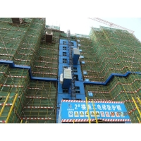 Quality 46M/Min VFC Motors and Helical Gearbox SC200/200BZ Man Material Rack And Pinion Hoists for sale