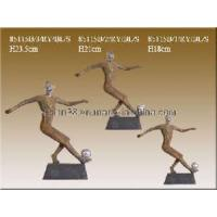 Quality Abstrack Soccer Player Figurine Trophy (85115) for sale