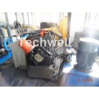 Quality Galvanized Coil C Channel Roll Forming Machine , C Purlin Roll Forming Machine With Chain Transmission for sale