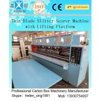 Quality Thin Blade Slitter Scorer 4 Blades 6 Scorers Manual Feeding Slitter for sale