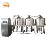 Quality 500l 1000l 1500l beer equipment steam heating beer brewery system for sale
