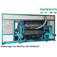 Quality Automatic Rotary Egg Tray / Egg Carton Making Machine High Output Pulp Molded for sale