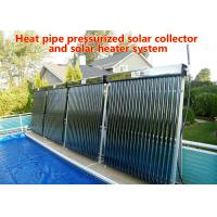 Quality Energy Saving Heat Pipe Solar Water Heater , Vacuum Tube Solar Water Heater for sale