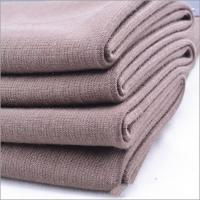 Quality Best Sell Rusha Textile Single Jersey Plain Dyed 96% Viscose 4% Spandex Open End OE Spun Rayon Elastic Knitted Fabric for sale