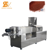 Quality Single Phase 220V Floating Fish Feed Extruder Self Cleaning for sale