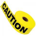 adhesive warning tape