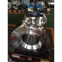 Quality Trunnion Ball Valve Side Entry Ball Valve Anti Static And Anti Blowout Stem for sale