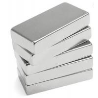 China Extremely Strong Rare Earth Magnet Block Three Layer Coated For Secure Window on sale