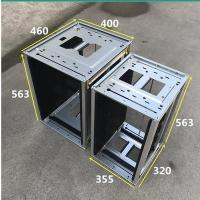Quality Smt upper and lower board anti-static board machine metal buckle pcba loading magazine rack for sale