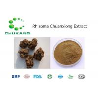 Quality Rhizoma Chuan Xiong Powdered Herbal Extracts Promoting Blood Circulation for sale