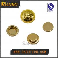 Quality 2016 new design metal anti silver snap button for garments in high quality for sale