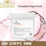 Quality 4KG Herbicos Granulated Sugar SPA Body Scrub Skin Care Face Cream for all skin for sale