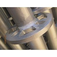 Quality Ringlock verticals 48.3*3.2mm Ringlock Scaffolding System HDG Surface for sale