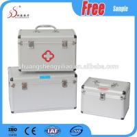 Buy cheap Aluminum Shield First Aid Kit Box Family Usage 12 Inch Large Space from wholesalers