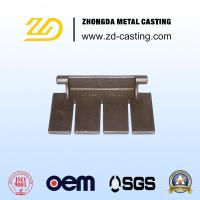 Quality OEM Heat Resistant Steel Lost Wax Process for Steel Making Cement Stove Parts for sale
