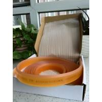 Quality 80 Shore Hardness Screen Printing Squeegee Blades Coffee 30 * 9 ISO 9001 For PVC for sale