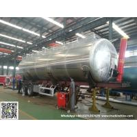 Buy cheap Aluminum Alloy Wheat Flour Bulk Tanker with Tipping Hydraulic Cylinder (6000USG from wholesalers