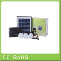 Quality Wholesale 4W 11V lithium battery with LED bulbs lighting system home solar kit for sale