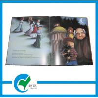 Quality OEM Story Photo Hardcover Book Printing with String Decoration for Education for sale