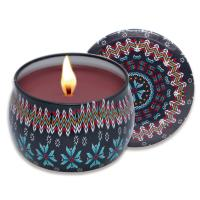 China Four lovely scented soy candle for gift set on sale