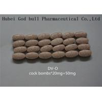 Quality Anabolic Steroid Hormones Cock Bombs 20mg Cialis Mixed With 50mg Viagra Pill ED Suppose for sale