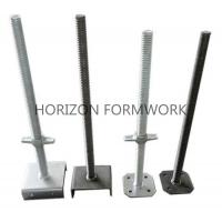 Quality Adjustable Screw Jack Head For Ringlock Scaffolding System Dia 48mm x 5mm for sale