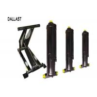 Quality Double Acting Hydraulic Cylinder Lift Vertical to Axis Foot Type with Breckets for Trailer for sale